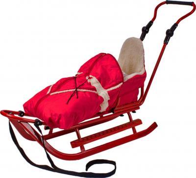 Санки детские Adbor Piccolino (Red) - общий вид