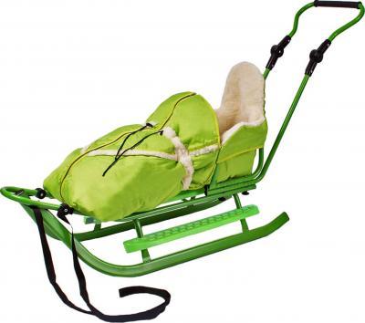 Санки детские Adbor Piccolino (Green) - общий вид
