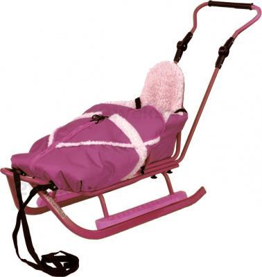 Санки детские Adbor Piccolino (Pink) - общий вид