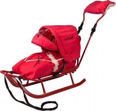 Санки детские Adbor Piccolino Deluxe (Red) - общий вид