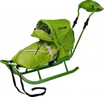 Санки детские Adbor Piccolino Deluxe (Green) - общий вид