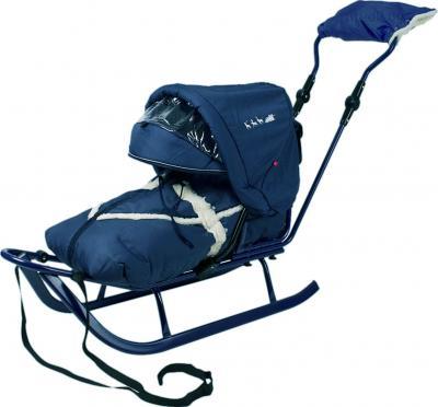 Санки детские Adbor Piccolino Deluxe (Blue) - общий вид