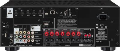 AV-ресивер Pioneer VSX-828-K - вид сзади