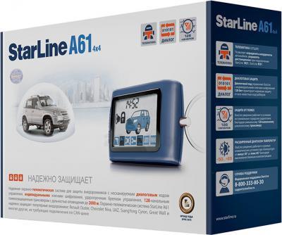 Автосигнализация StarLine A61 4x4 - общий вид