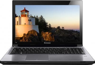 Ноутбук Lenovo IdeaPad V580CA (59381134) - фронтальный вид