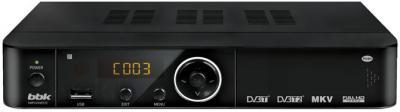 Тюнер цифрового телевидения BBK SMP245HDT2C - общий вид