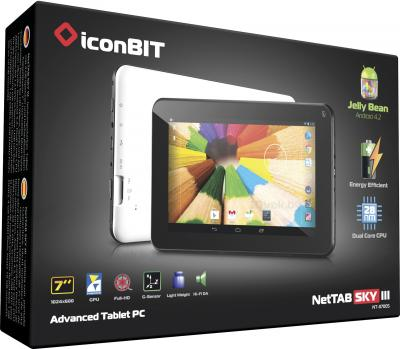 Планшет IconBIT NetTAB Sky III (NT-0700S) - коробка