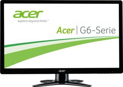 Монитор Acer G246HLBBID - фронтальный вид