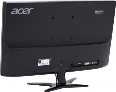 Монитор Acer G246HLBBID - вид сзади