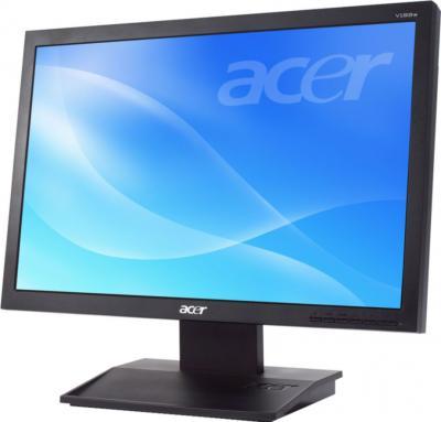 Монитор Acer V193LAObmd - вид сбоку