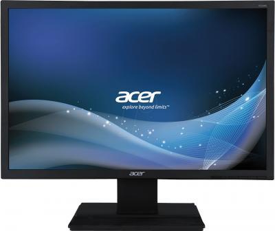 Монитор Acer V226WLBMD - фронтальный вид
