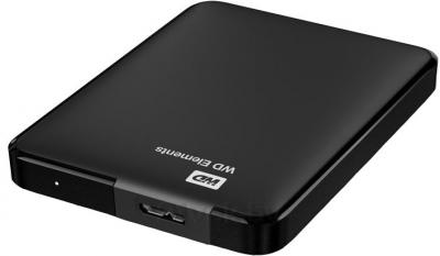 Внешний жесткий диск Western Digital Elements Portable 500GB (WDBUZG5000ABK) - разъем подключения
