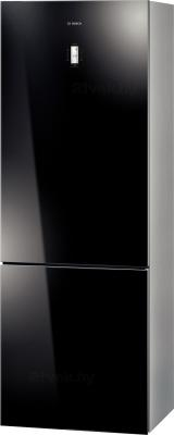 Холодильник с морозильником Bosch KGN49SB21R - общий вид