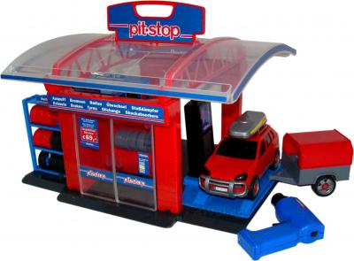 Игровой набор Полесье 41951 Тюнинг-центр Pit-Stop (в коробке) - общий вид