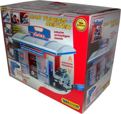 Игровой набор Полесье 41951 Тюнинг-центр Pit-Stop (в коробке) - упаковка