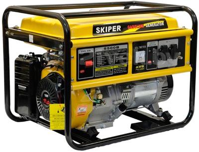 Бензиновый генератор Skiper LT 5500 B - общий вид