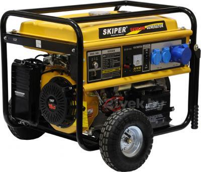 Бензиновый генератор Skiper LT 8000 EК - общий вид