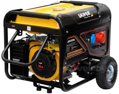 Бензиновый генератор Skiper LT 8000 ES - общий вид