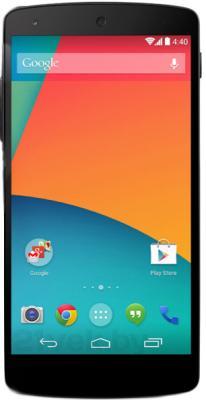 Смартфон LG Nexus 5 16Gb / D821 (черный) - общий вид