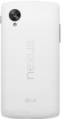 Смартфон LG Nexus 5 16Gb / D821 (белый) - задняя панель
