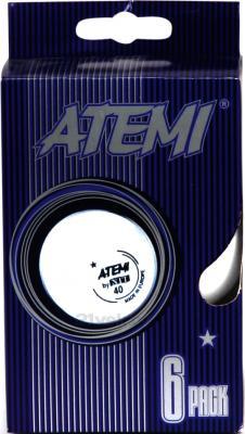 Мячи для настольного тенниса Atemi 1905-1 (White) - набор шариков