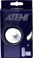 Мячи для настольного тенниса Atemi 1906-1 (Orange) -