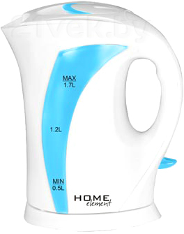 Электрочайник Home Element HE-KT102 (White-Light Blue) - общий вид