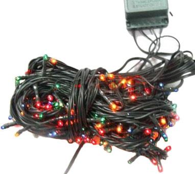 Светодиодная гирлянда Mag 2000 050536 (180 лампочек) - цвет провода в действительности белый