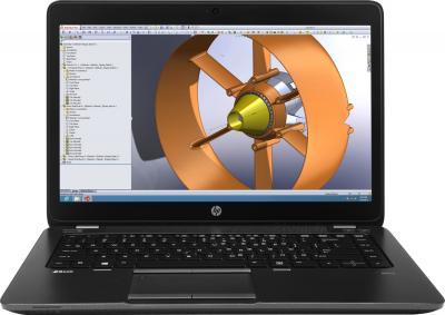 Ноутбук HP ZBook (F0V51EA) - фронтальный вид
