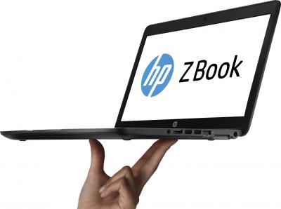 Ноутбук HP ZBook (F0V51EA) - общий вид