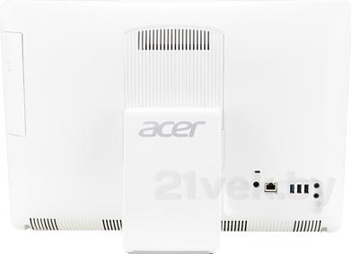 Моноблок Acer Aspire ZC-602 (DQ.STGME.001) - вид сзади