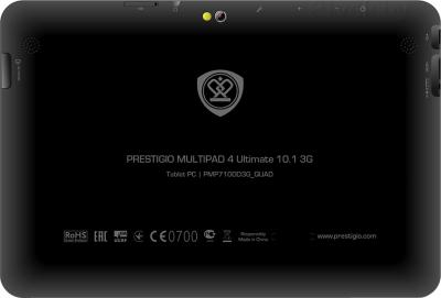 Планшет Prestigio MultiPad 4 Ultimate 10.1 3G (PMP7100D3G_QUAD) - вид сзади