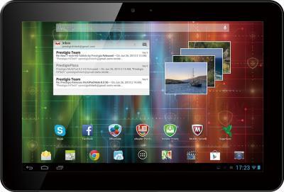 Планшет Prestigio MultiPad 4 Ultimate 10.1 3G (PMP7100D3G_QUAD) - фронтальный вид