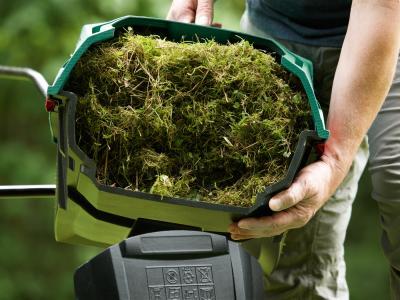 Скарификатор для газона Bosch ALR 900 (0.600.88A.000) - очистка травосборника