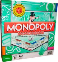 Настольная игра Hasbro Монополия 00009 -