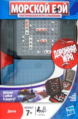 Настольная игра Hasbro Морской бой 22678 (дорожная) - коробка