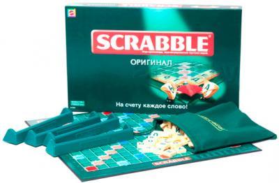 Настольная игра Mattel Скрабл / Scrabble - комплект