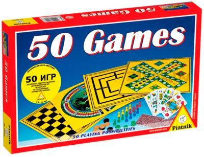 Набор игр Piatnik 50 игр - коробка