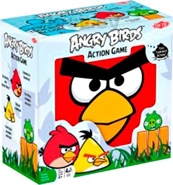 Настольная игра Tactic Энгри Бердс / Angry Birds - коробка