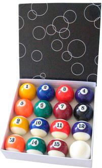 Бильярдные шары NoBrand ABLD-57 - общий вид