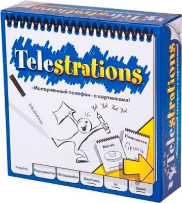 Настольная игра Magellan Сломанный телефон / Telestrations - коробка