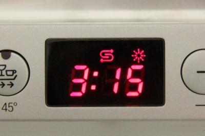 Посудомоечная машина Siemens SN64L070RU - дисплей