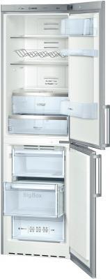 Холодильник с морозильником Bosch KGN39AL20R - общий вид