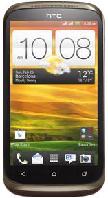 Смартфон HTC Desire Х Dual (Brown) - общий вид