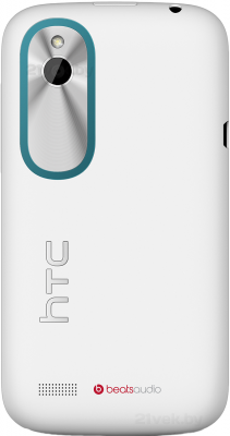 Смартфон HTC Desire Х Dual (White) - задняя панель