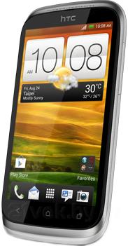 Смартфон HTC Desire Х Dual (White) - полубоком