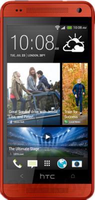 Смартфон HTC One mini (красный) - общий вид