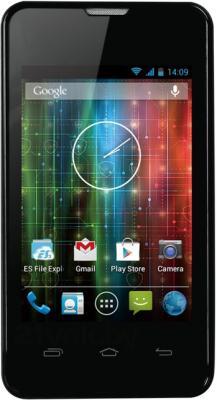 Смартфон Prestigio MultiPhone PAP3350 DUO (черный) - общий вид