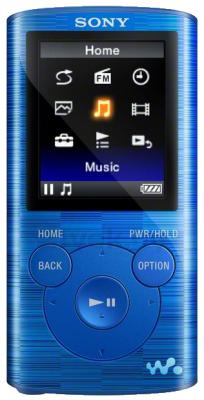 MP3-плеер Sony NWZ-E384L - общий вид