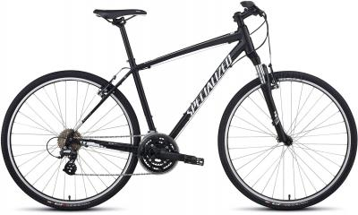 Велосипед Specialized Crosstrail (M, Black-White, 2014) - общий вид